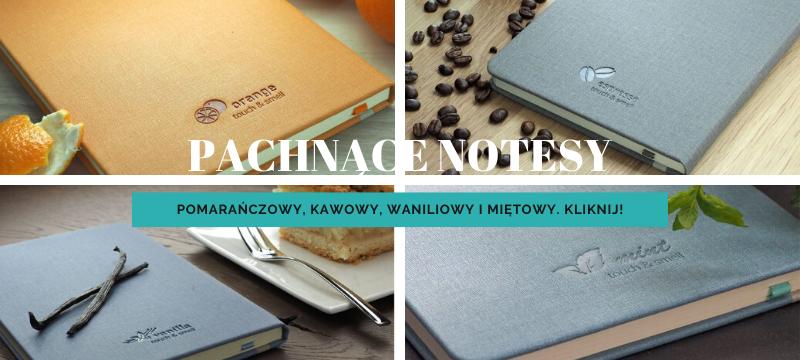 Pachnące notesy